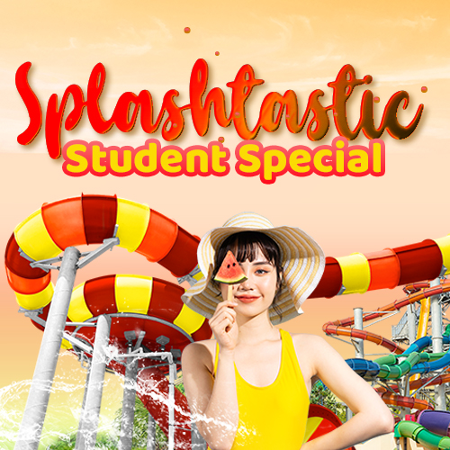 Wild Wild Wet Splashtastic Student Special Promotion