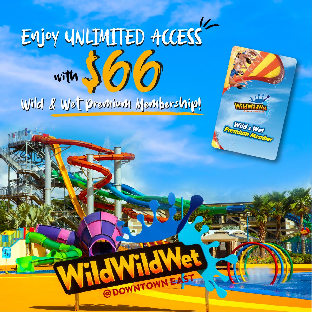 NTUC60 Wild & Wet Premium Membership